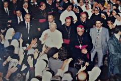 Juan Pablo II en la Catedral Metropolitana