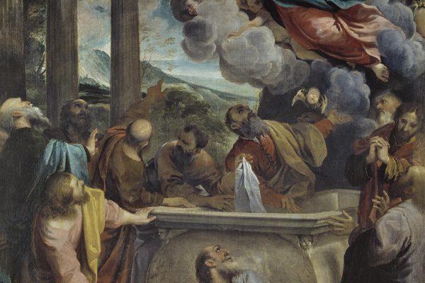 La Asunción de la Virgen de Annibale Carracci / Fuente : Museo del Prado