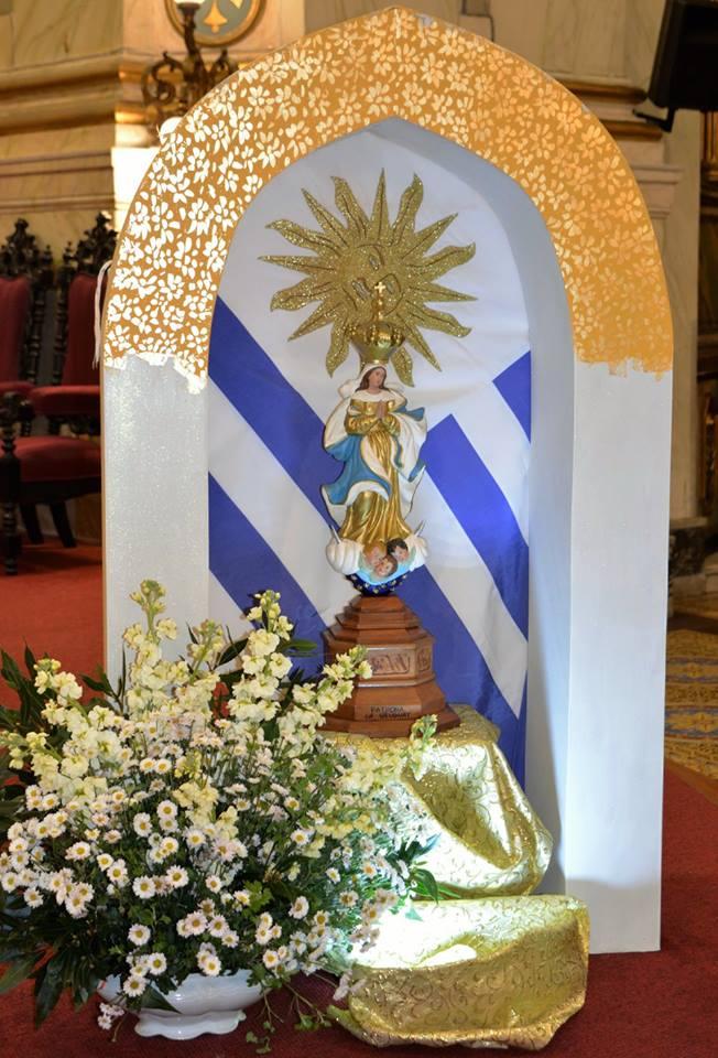 Imagen de la Virgen de los Treinta y Tres/ Fuente: Camilo Genta - Arquidiócesis de Montevideo