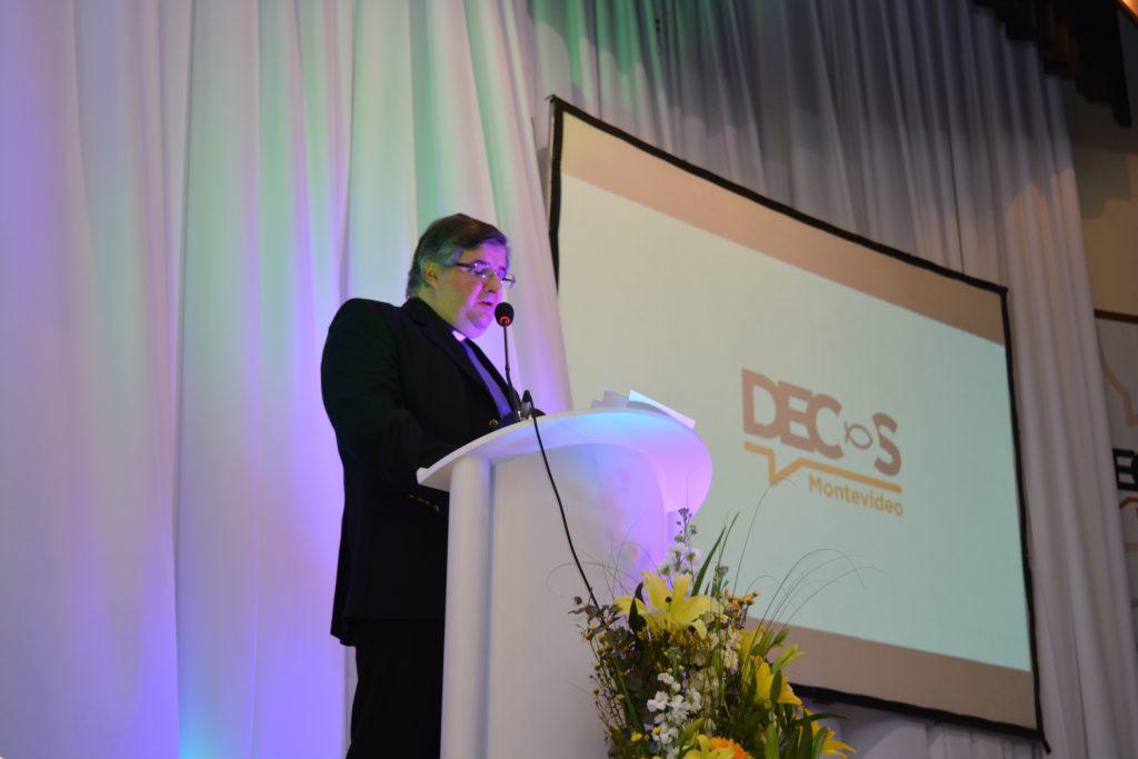 P. Pablo Coimbra, director del Departamento /L. Gutiérrez