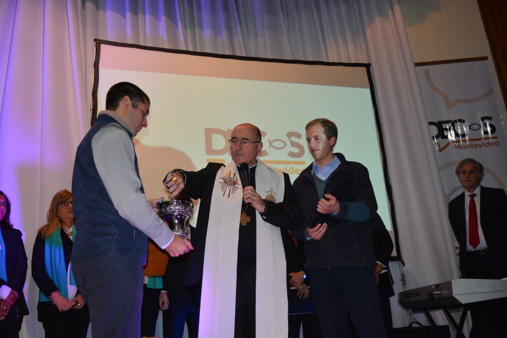 El Cardenal bendice las instalaciones /L. Gutiérrez