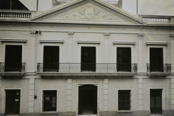 Fachada Club Católico / Fuente: Arquidiócesis de Montevideo