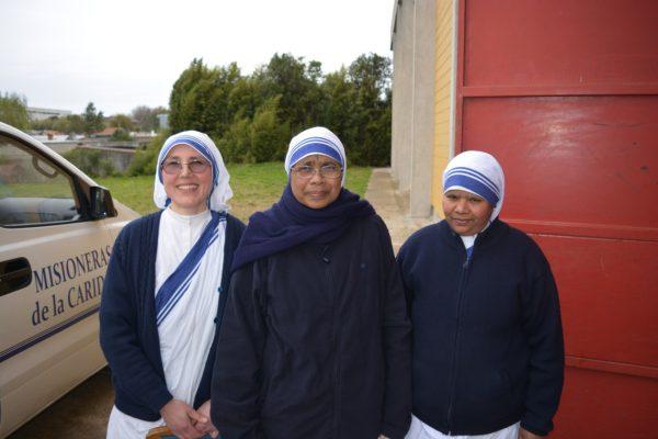 Hermanas Misioneras de la Caridad. María Clara es la de la izquierda /C. Genta