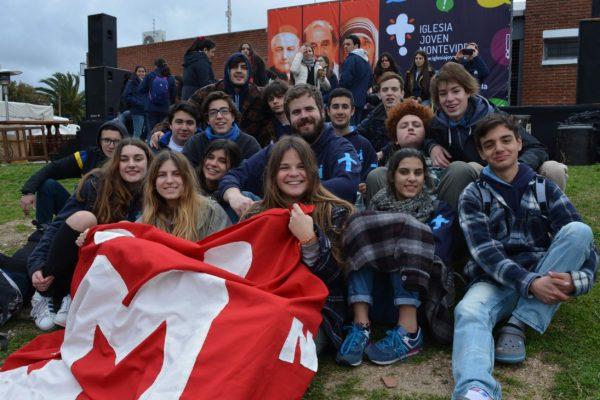 Los jóvenes disfrutaron su Jornada/ C. Bellocq