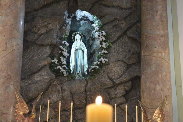 Imagen de la Virgen de Lourdes / Fuente : Arquidiócesis de Montevideo