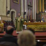 Cardenal Sturla durante la homilía / Fuente: Clara Planelles - Arquidiócesis de Montevideo