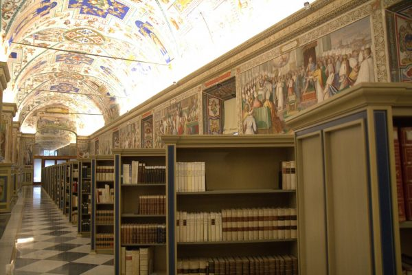 Biblioteca Vaticana / Fuente: CNA