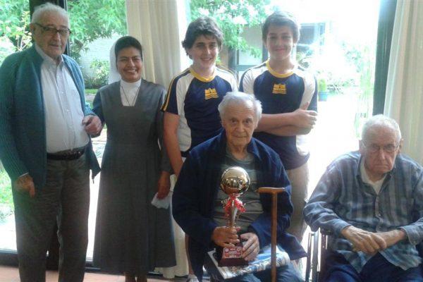 Hogar  sacerdotal / Fuente: Página web Colegio Monte VI