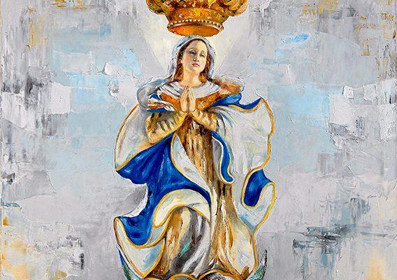 Virgen de los Treinta y Tres, por Martha Escondeur