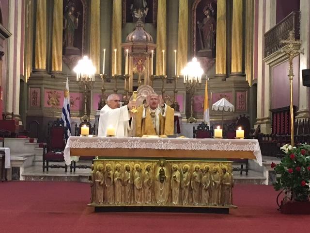 Cardenal Daniel Sturla / Fuente: Gabriela Gómez