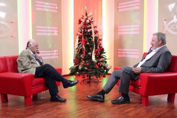 """Juan Carlos López """"Lopecito"""" y Gerardo Sotelo / Fuente: ICMtv"""