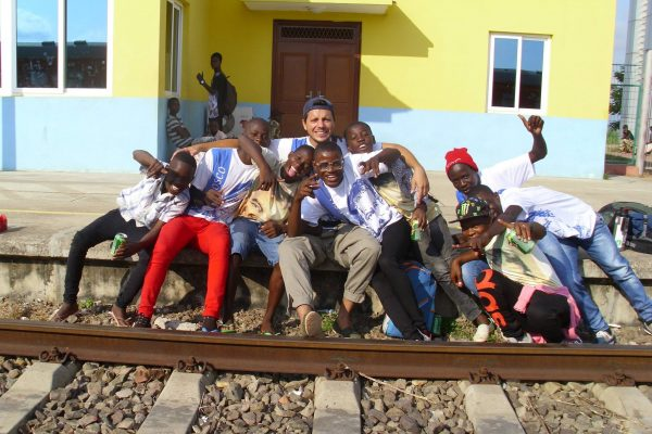 Misión en Angola / Fuente: Juan Pablo Reyes