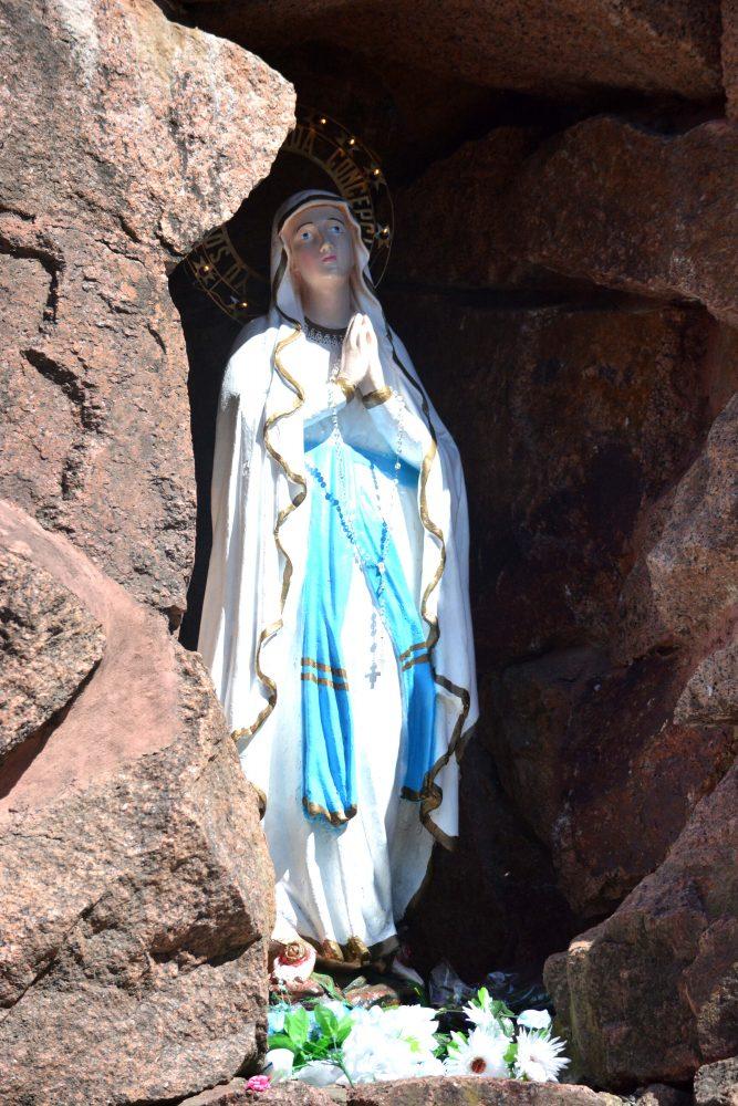 Virgen de Lourdes/ Fuente: DECOS Montevideo