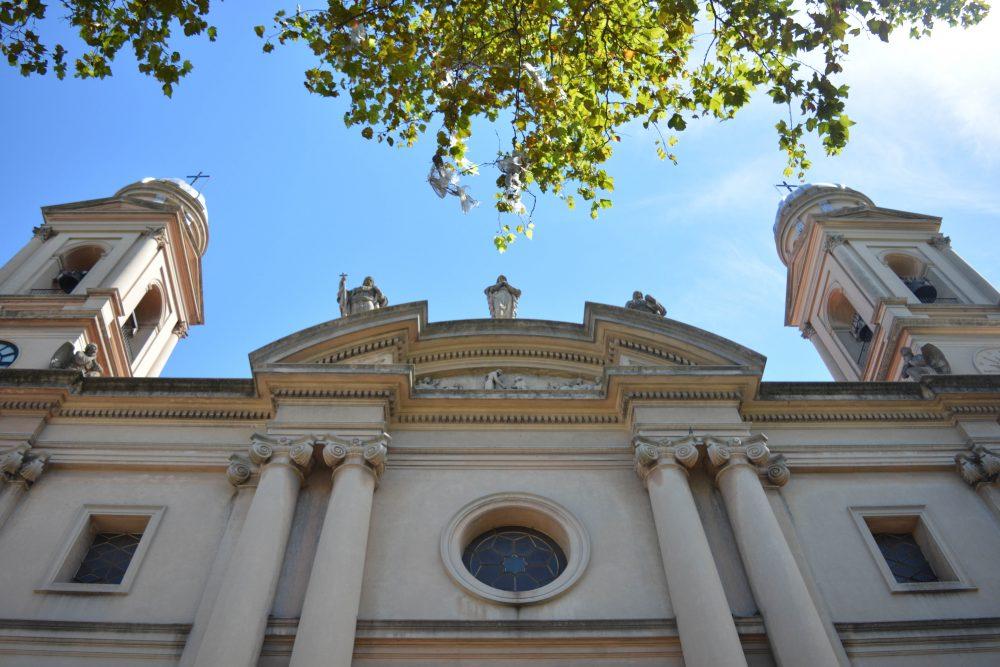 Fachada de la Catedral Metropolitana / Fuente: Federico Gutiérrez - Decos Montevideo