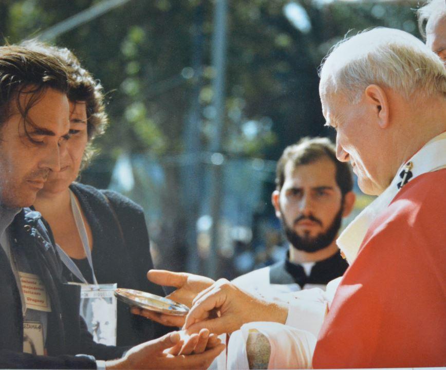 Misa en Tres Cruces / Fuente: Arquidiócesis de Montevideo