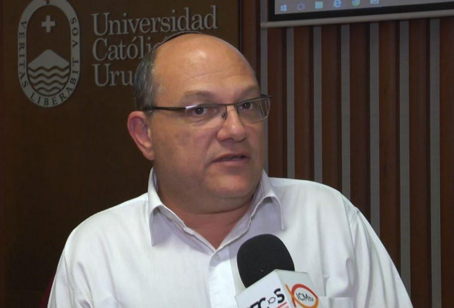Rabino Daniel Dolinsky / Fuente: DECOS Montevideo