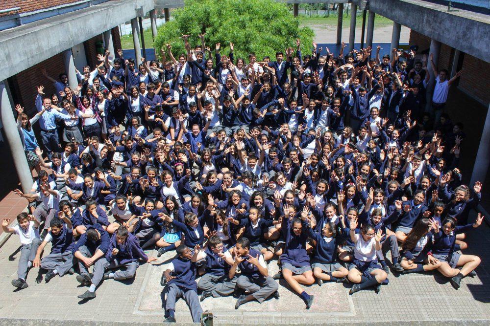 La comunidad educativa del Liceo Jubilar / Fuente: Liceo Jubilar
