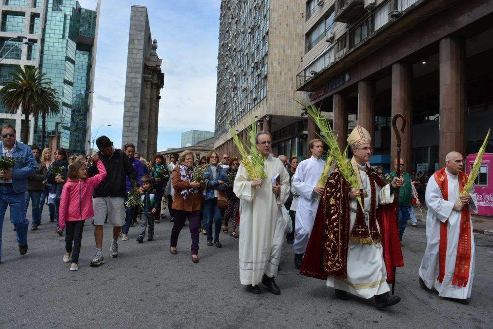Procesión de Domingo de Ramos / Fuente: DECOS Montevideo