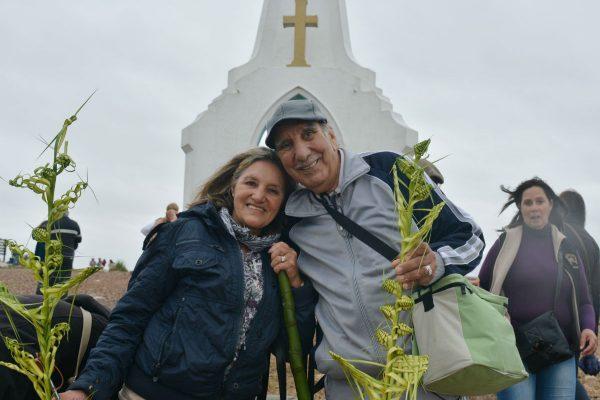 Sara y Hugo, residentes de Minas /C. Bellocq