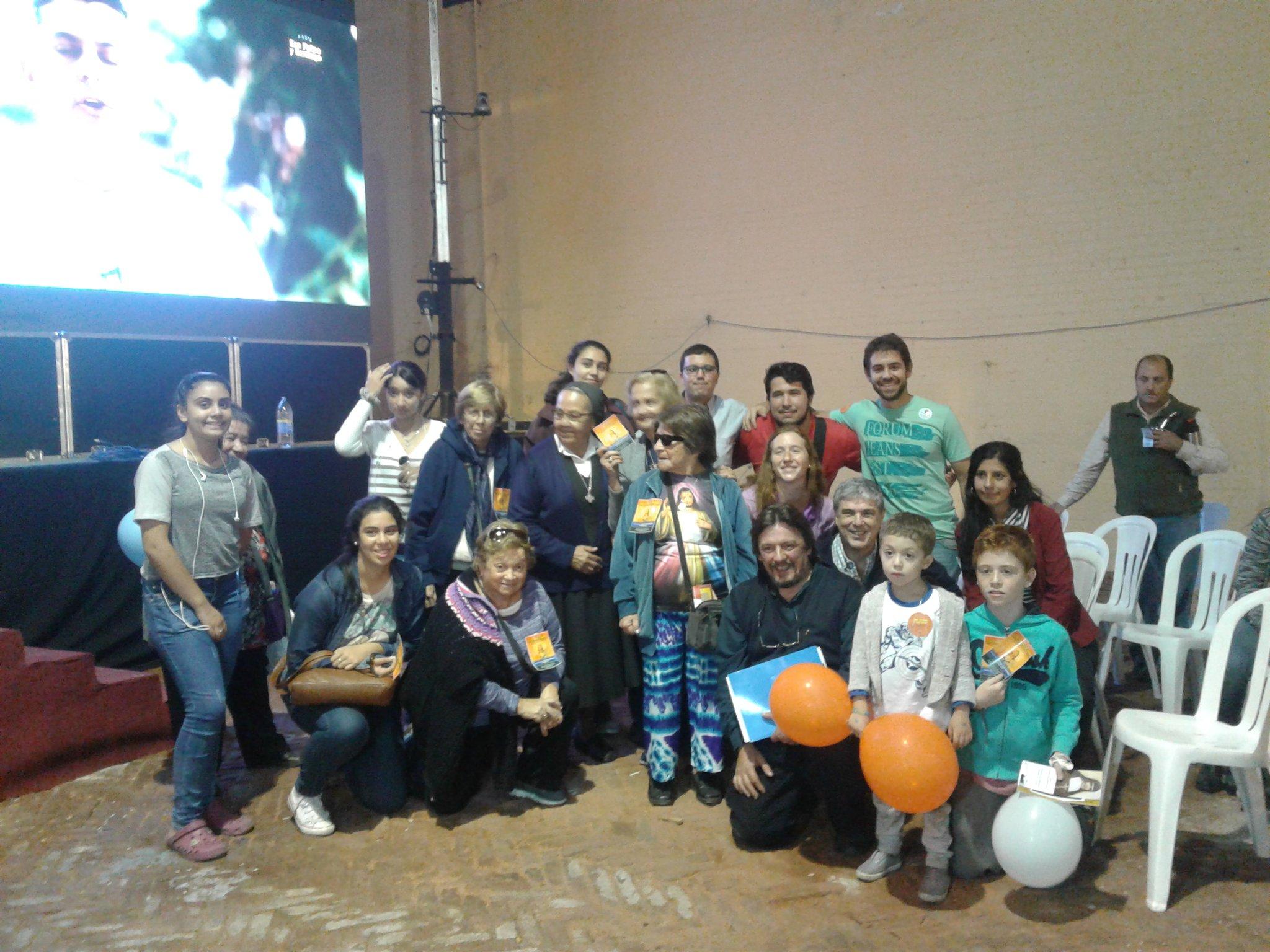 Miembros de la Asociación Civil Con los Brazos Abiertos /A. González