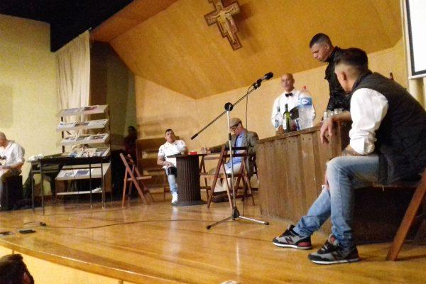 Pastoral Penitenciaria facilitó la actuación en la residencia de los Conventuales