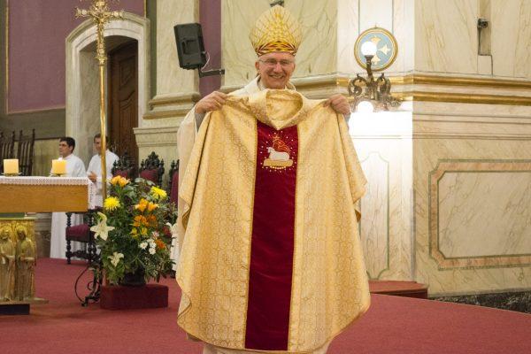 Mons. Nicolás Cotugno / Fuente: Fernando Polvarini