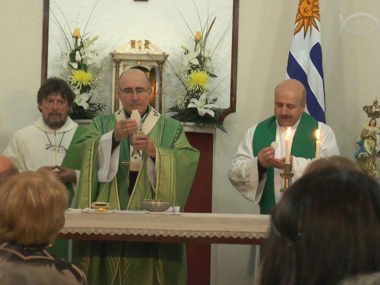 Misa de bendición de la Capilla del Pereira Rossell/ Fuente: ICMtv