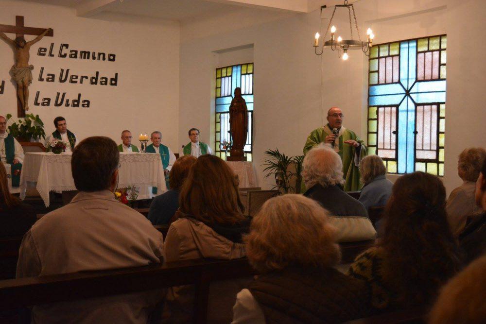 Misa por los 25 años de la pascua del Padre Cacho/ Fuente: Clara Planelles