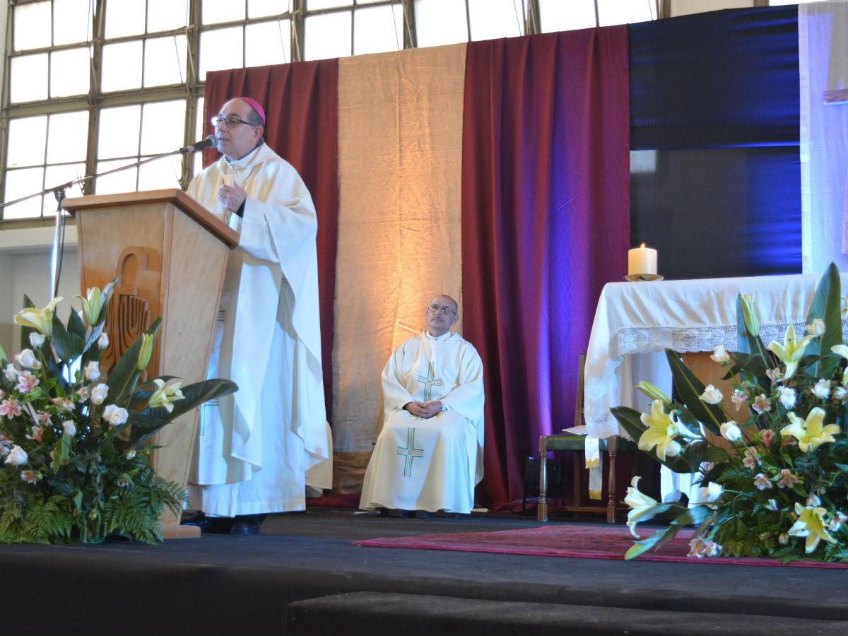 Mons. Milton Tróccoli pronunció la homilía /C. Planelles