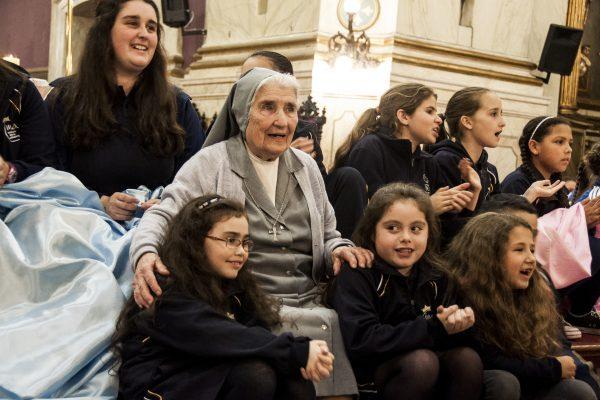 Celebración de los 140 años de las HMA en Uruguay / Fuente: Federico Elgue
