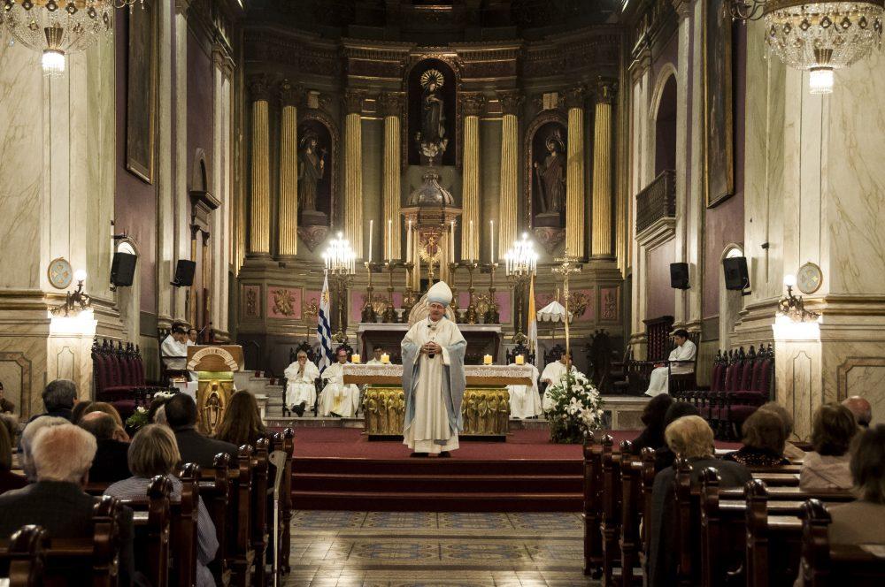 Misa por la campaña Iglesia de Todos / Fuente: Federico Elgue