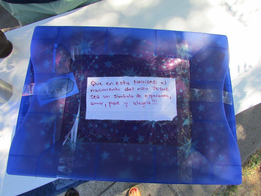 Se intenta que las cajas tengan un mensaje de alegría y de fe /Fb: Old Christians Club