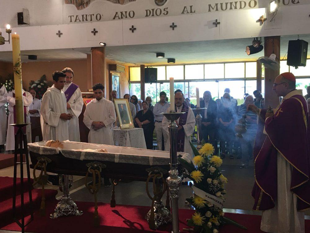 Misa exequial por el P. Elizaga / Fuente: Gabriela Gómez