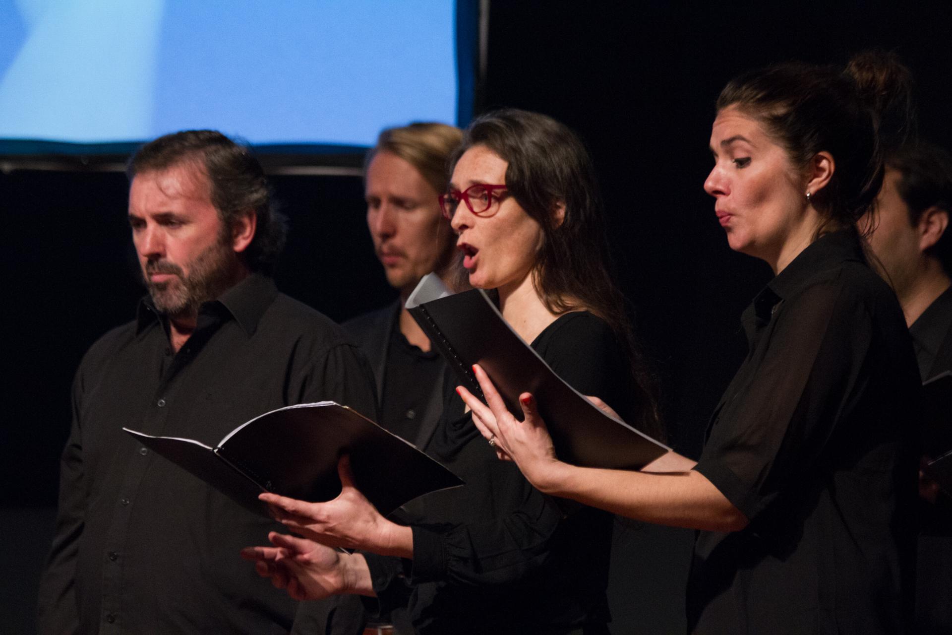 Ensemble vocal e instrumental De Profundis /F. Gutiérrez