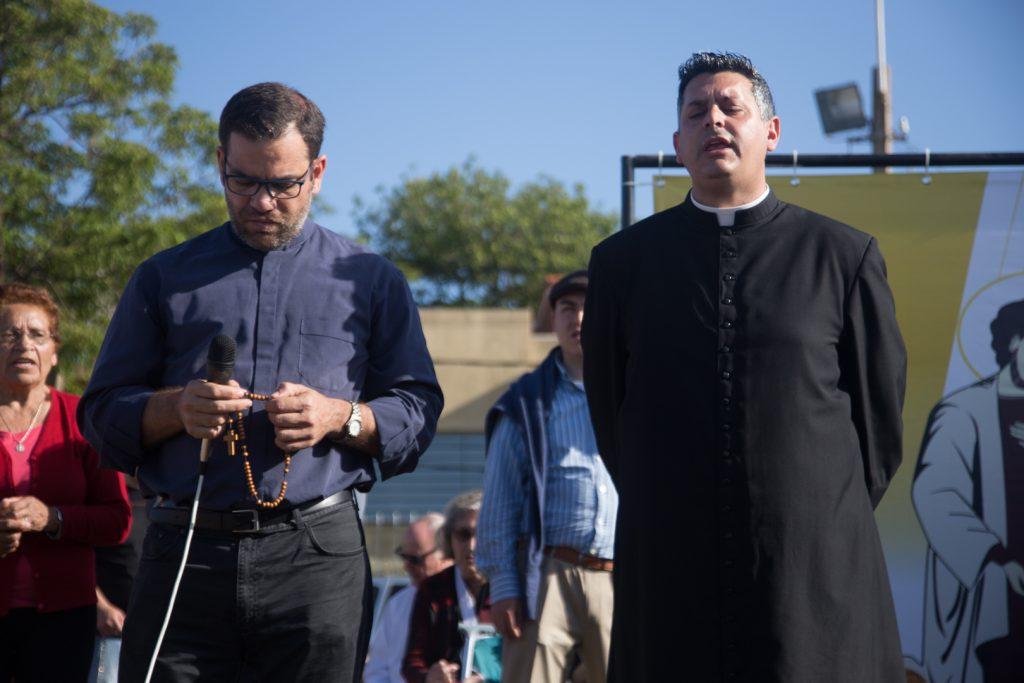Sacerdotes. Los P. Ignacio Rey Nores y Marcelo Marciano /F. Gutiérrez