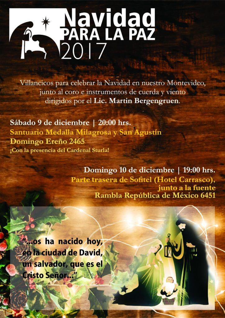 Navidad para la paz 2017