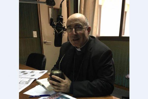 Cardenal Daniel Sturla en Radio Oriental / Fuente: Gabriela Gómez