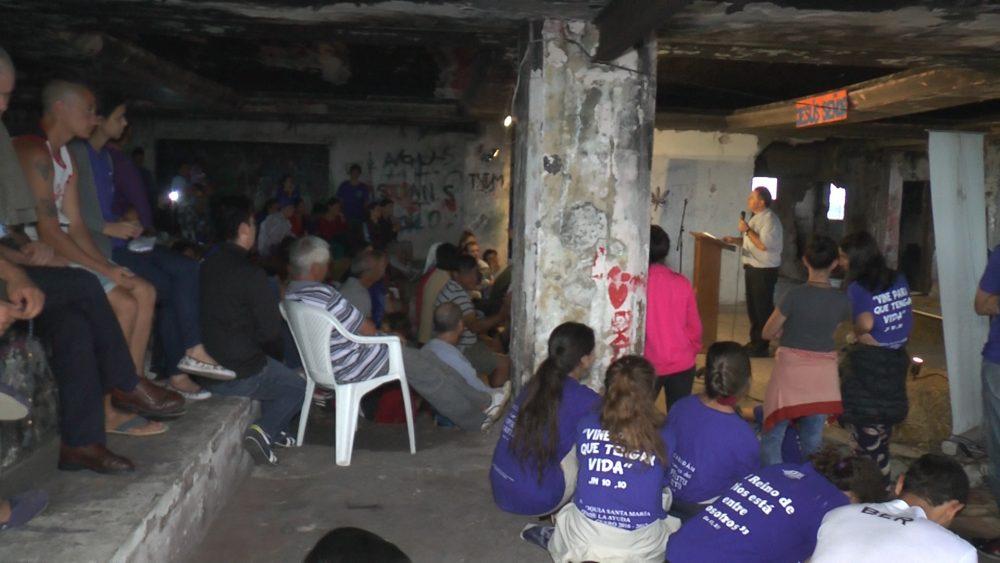 Uno de los encuentros durante la Misión / Fuente: ICMtv