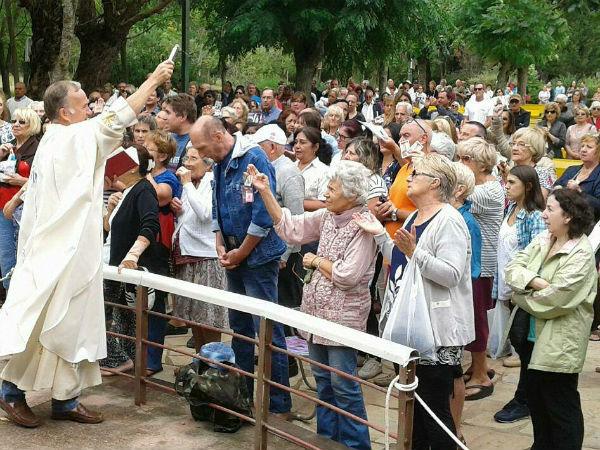 El 11 de febrero es la Fiesta de la Virgen de Lourdes y la Jornada Mundial del Enfermo /Fb:Santuario Nacional de Nuestra Señora de Lourdes