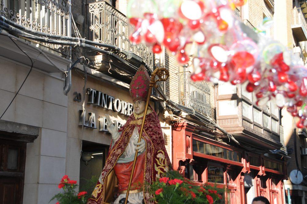 Procesión de San Blas en Pamplona/ Fuente:  Flickr Carlos Octavio Uranga