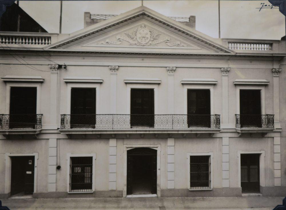 Fachada del Club Católico/ Fuente: Archivo de la Curia de Montevideo