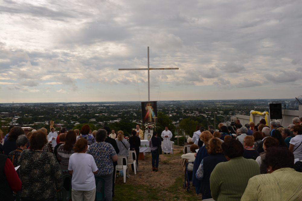 Fiesta de la Divina Misericordia en el año 2016/ Fuente: Decos Montevideo
