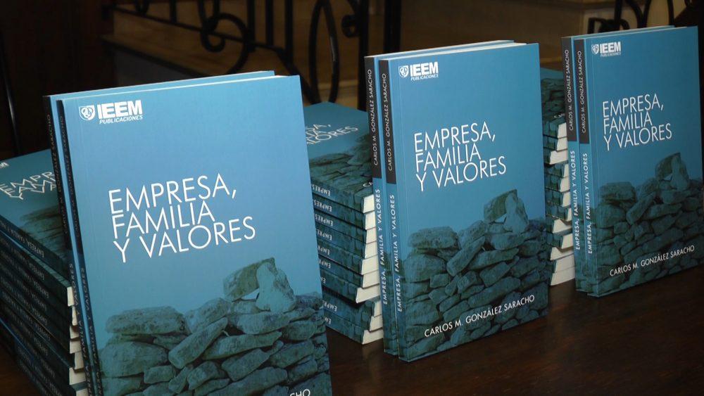 Presentación del libro Economía, familia y valores/ Fuente: ICMtv
