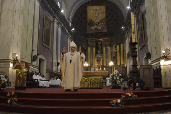 Homilía durante la Misa de Domingo de Resurrección/ Fuente: Clara Planelles