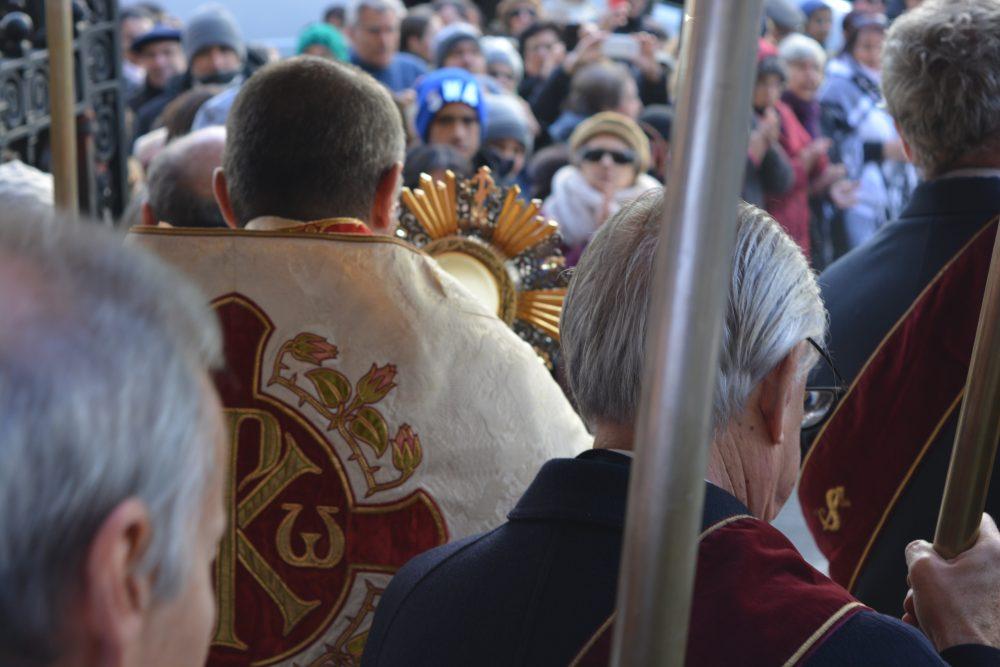 Procesión de Corpus Christi/ Fuente: Decos Montevideo