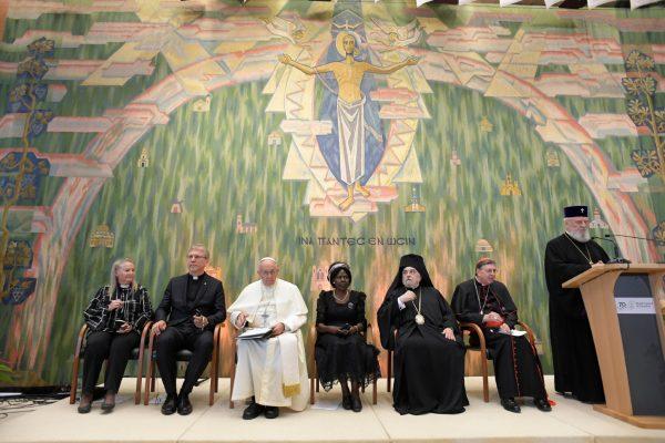 Encuentro ecuménico en Ginebra/ Fuente: Vatican Media/CNA
