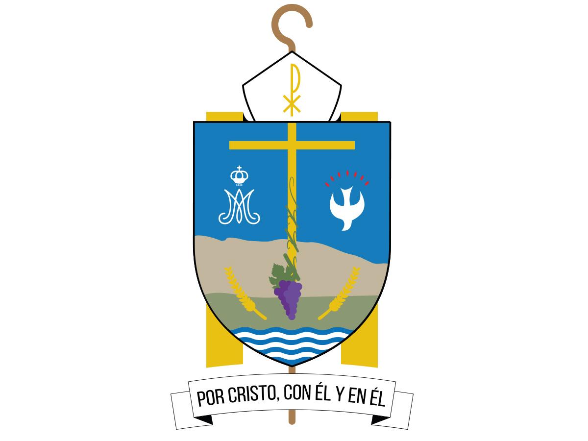 Escudo episcopal de Luis Eduardo González