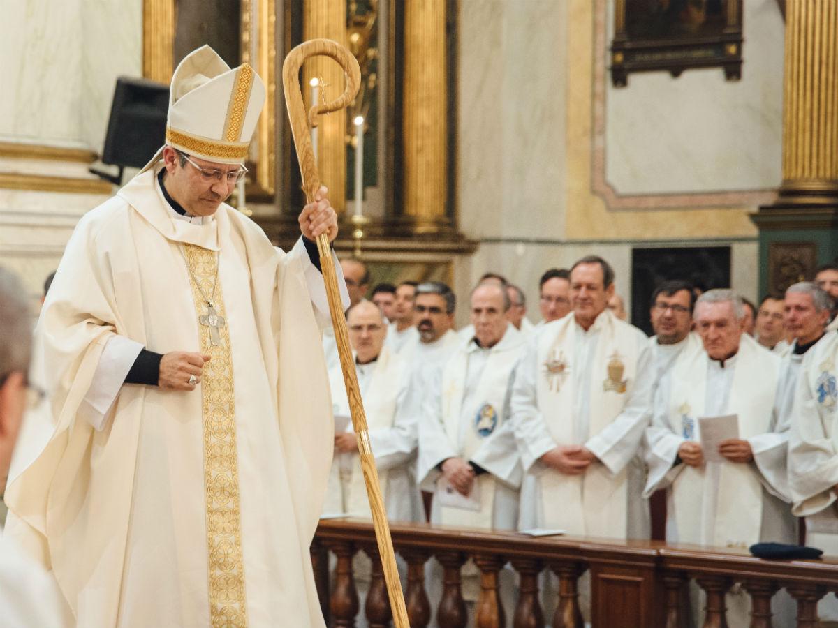 Mons. Luis Eduardo González Cedrés /M. Freire