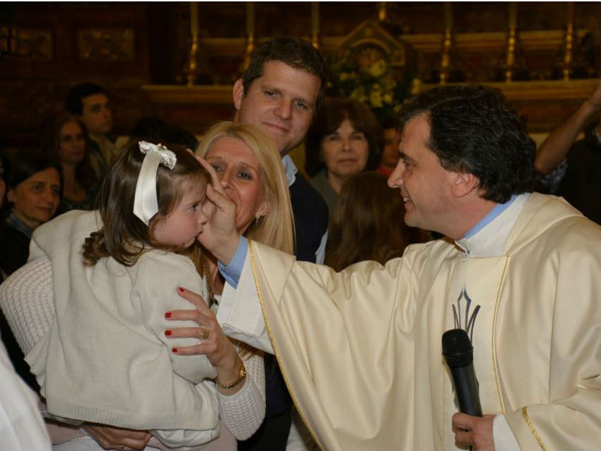 El P. Pablo Jourdan fue designado Obispo Auxiliar de Montevideo /Facebook Parroquia Varela
