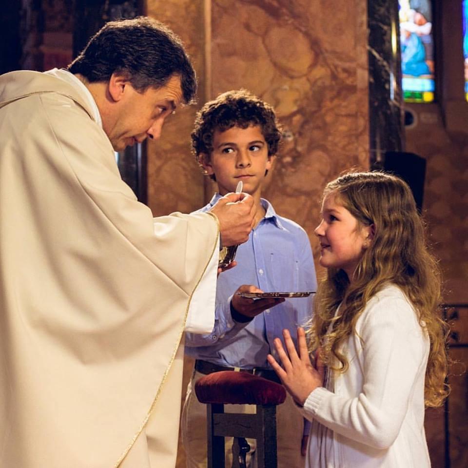 El P. Pablo Jourdan se ordenó sacerdote en 1995 /Facebook Parroquia Varela